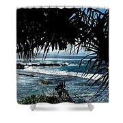 Blue Hawaii Shower Curtain