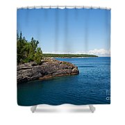 Blue Heaven Shower Curtain