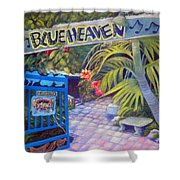 Blue Heaven New View Shower Curtain