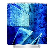 Blue   II Shower Curtain