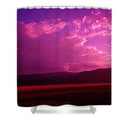 Blue In Bonners Ferry Shower Curtain