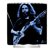 Blue J G In Cheney 10-27-78 Shower Curtain