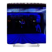 Blue Man Group Theater Shower Curtain