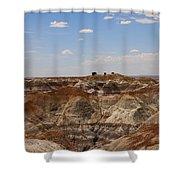 Blue Mesa - Painted Desert Shower Curtain