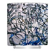 Blue Mind Shower Curtain
