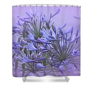 Blue Mist Shower Curtain