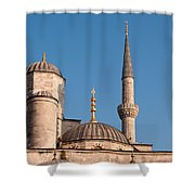 Blue Mosque 02 Shower Curtain