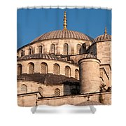 Blue Mosque Domes 05 Shower Curtain