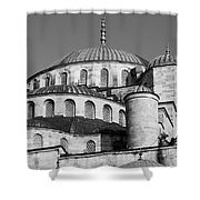 Blue Mosque Domes 06 Shower Curtain