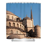 Blue Mosque Domes 08 Shower Curtain