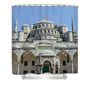 Blue Mosque In Istanbul Turkey Shower Curtain