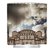 Blue Mosque Istanbul Shower Curtain