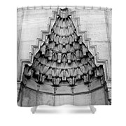 Blue Mosque Stalactites Shower Curtain