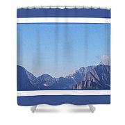 Blue Mountains Shower Curtain