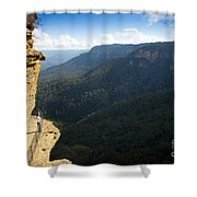 Blue Mountains Walkway Shower Curtain