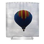 Blue Rainbow  Shower Curtain