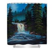 Mountain Falls Shower Curtain
