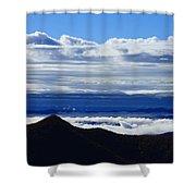 Blue Ridge Fog-north Carolina Shower Curtain