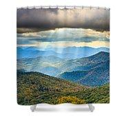 Blue Ridge Glory Shower Curtain