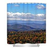 Blue Ridge Mountains 2 Shower Curtain