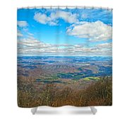 Blue Ridge Parkway Beautiful View Shower Curtain