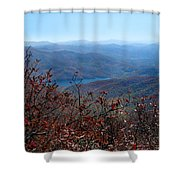 Blue Ridge Parkway IIi Shower Curtain