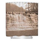 Blue Ridge Parkway Rainy Day Shower Curtain