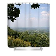 Blue Ridge Parkway Scenic View Shower Curtain