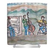 Blue Ridge Tradition   Shower Curtain