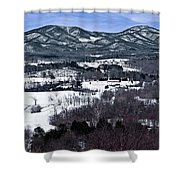 Blue Ridge Vista Shower Curtain
