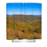 Blue Ridge Vista Shower Curtain