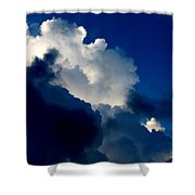 Blue Skies Shower Curtain