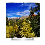 Blue Skies In Colorado Shower Curtain