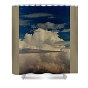 Blue Skies Of Heaven Shower Curtain