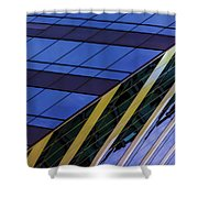 Blue Sky Horizontal  Shower Curtain