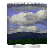 Blue Sky Shower Curtain