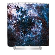 Blue Storm  Shower Curtain