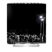 Blue Top Opening Night Shower Curtain