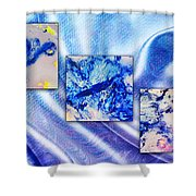 Blue Variations Shower Curtain