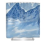 Blue View #2 Shower Curtain