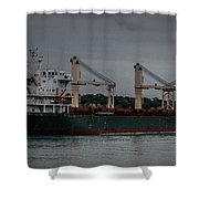 Blue Wing Shower Curtain