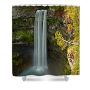 Blue Yellow And Green At Brandywine Shower Curtain