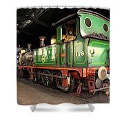 Bluebell Shed  Shower Curtain