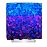 Blueberry Passion Fruit Shower Curtain