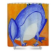 Bluefrog Shower Curtain
