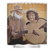 Bluegrass Music Shower Curtain