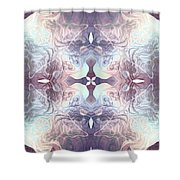 Bluelight Cross Shower Curtain