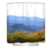 Blueridge Parkway Mm404 Shower Curtain