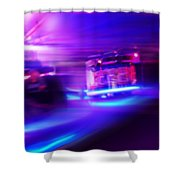 Blues Before Sunrise Shower Curtain