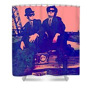 Blues Brothers 2 Shower Curtain
